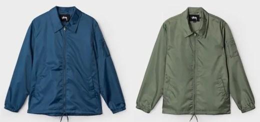 STUSSYからフライトジャケット特有のエッセンスをコーチジャケットに落とし込んだ「Flight Satin Coaches Jacket」が発売! (ステューシー)