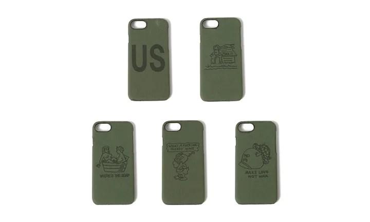 60年代USアーミーが使用したテント生地を使用したVINUP × BEAMS 別注 iPhoneケースが発売! (ヴィンテージアップサイクリング ビームス)