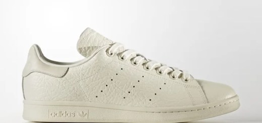 """キルトのレザーアッパーをあしらったアディダス オリジナルス スタンスミス """"オフ ホワイト"""" (adidas Originals STAN SMITH Quilt Leather """"Off White"""") [BB0036]"""