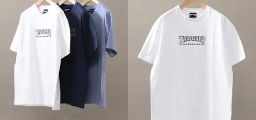 THRASHER × BEAUTY&YOUTH別注!3色展開のLOGO TEEが4月下旬発売! (ビューティアンドユース スラッシャー)