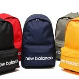 New Balanceからベーシックなバックパック「LOGO BACKPACK」5カラーが発売! (ニューバランス)