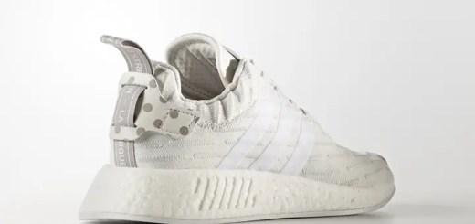 """adidas Originals WMNS NMD_R2 PRIMEKNIT {PK} """"Vintage White"""" (アディダス オリジナルス ウィメンズ エヌ エム ディー プライムニット """"ビンテージ ホワイト"""") [BY2245]"""