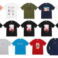【Tシャツ/TEE まとめ】 シュプリーム (SUPREME) 2018 FALL/WINTER コレクション (2018年 秋冬)
