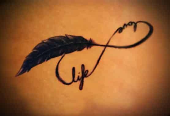 Designs tattoo Infinity