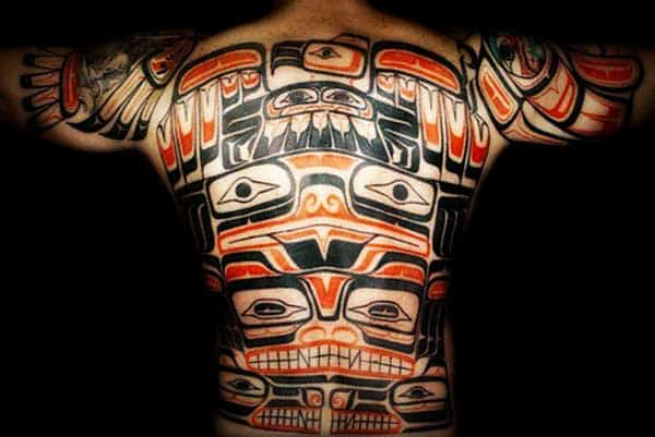 full tribal tattoo