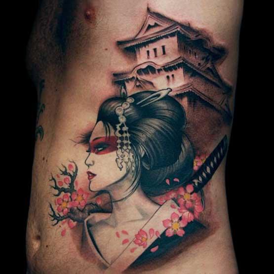 Best Japanese Geisha Tattoo