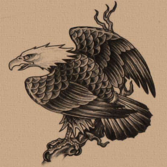 Free eagle tattoo designs