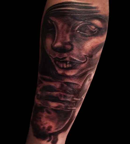 Blood Pudding Tattoo Design