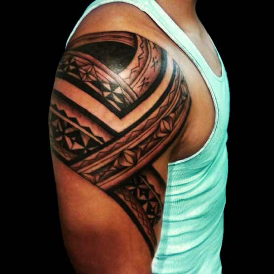 Tribal Arm Tattoos For Men Design