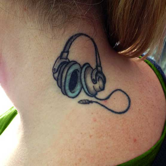 Music Tattoo Designs For Women