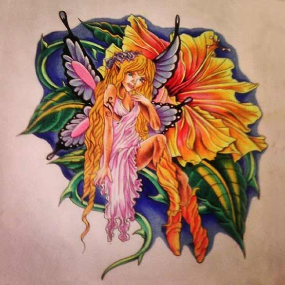 Make Fairy Tattoo Designs Its Own