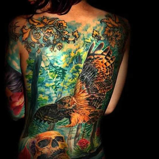 full Body Tattoo Female Images