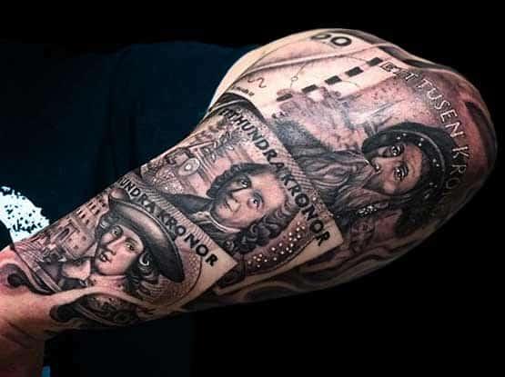 Best Money Tattoo Designs