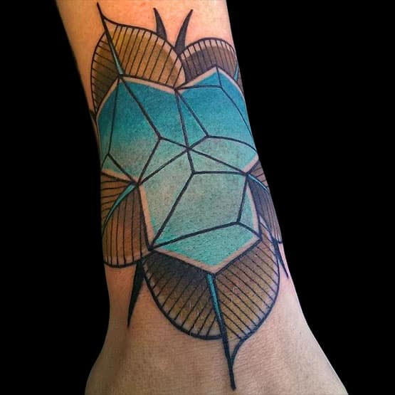 Simple Geometric Tattoo Designs