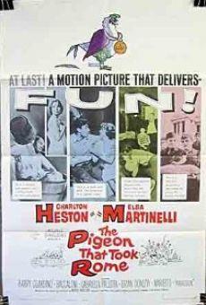 Poster do filme O Pombo que Conquistou Roma