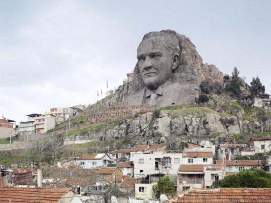 Ataturk Mask. Buca, Izmir, Turkey, 40 m