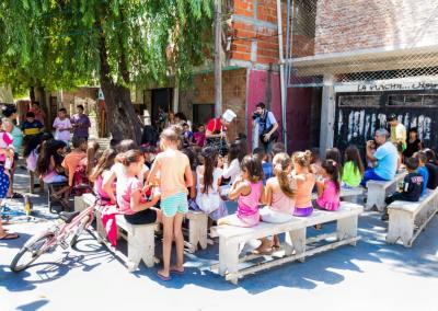 Educación en Ciudad Oculta y Villa 20