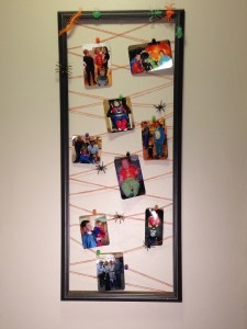 DIY Halloween photo frame to display and enjoy for years to come.