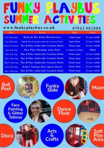 Funky-Playbus-Summer-2014-Activities