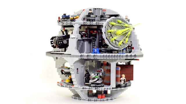 a massive 4016 piece lego death star. Black Bedroom Furniture Sets. Home Design Ideas