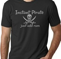 pirate shirts, rum t-shirt
