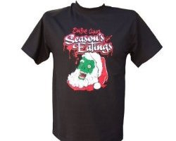 zombie claus, christmas shirts for goths, zombie christmas shirt