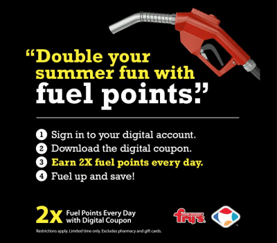 How to take advantage of Fry's Fuel Points