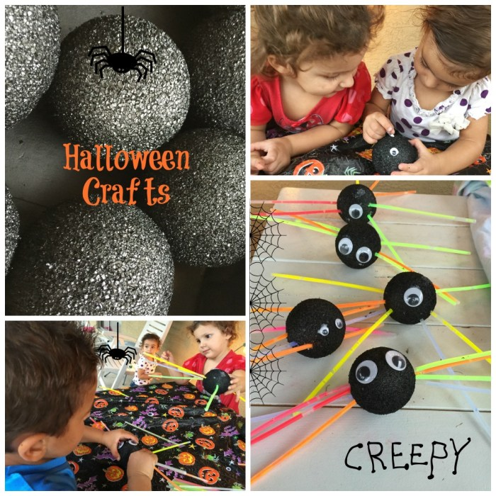 Creative Halloween Craft with Glow Sticks