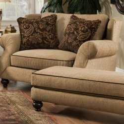 V 9900 Duchess Sofa in Fabric by Chelsea Home Furniture