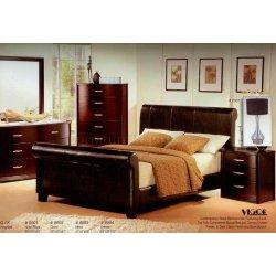Small Crop Of Dark Modern Bedroom