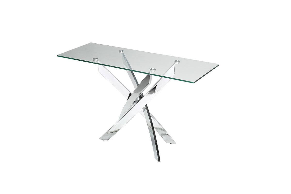 Fullsize Of Glass Console Table