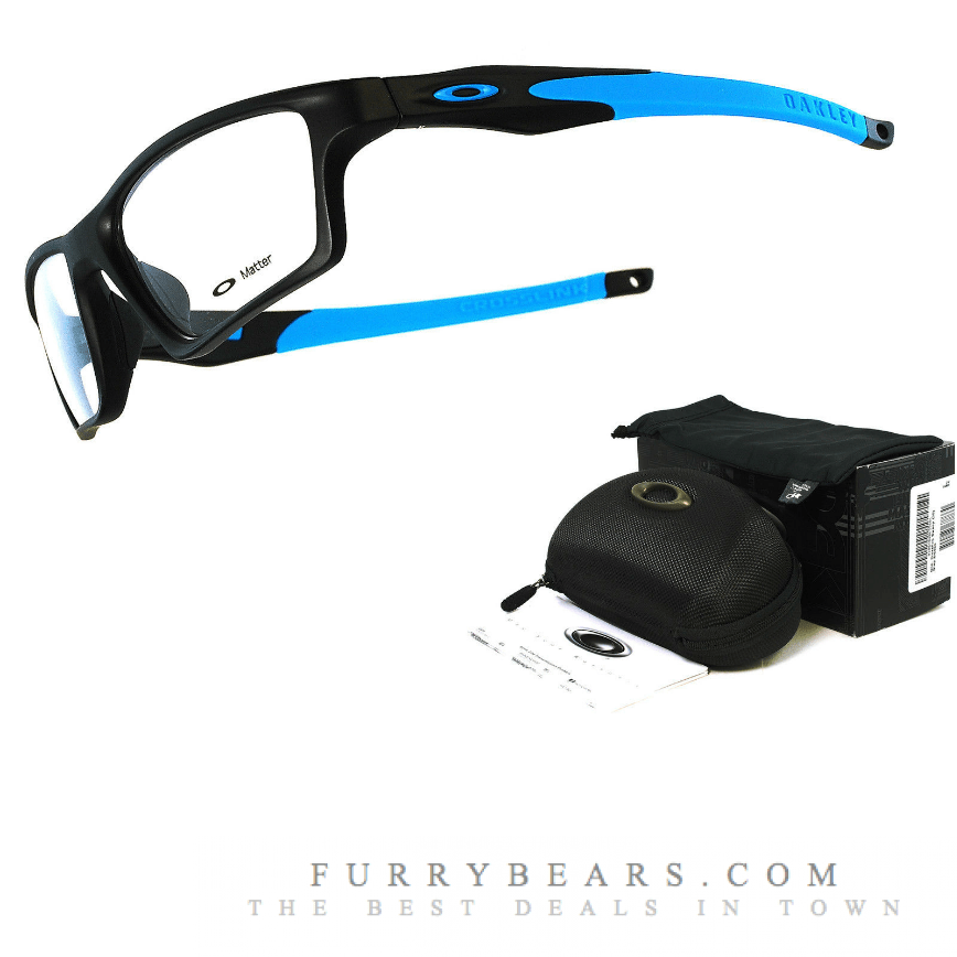 Oakley Crosslink Sweep Satin Black Blue Singapore