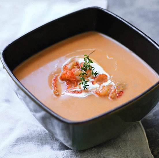Easy Lobster Bisque Recipe