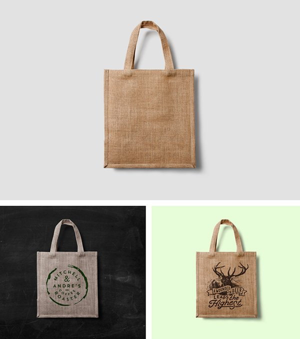 ECO BAG MOCK-UP