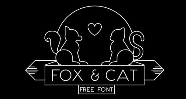 Fox & Cat Typeface