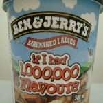 BEN&JERRY'Sのアイスクリーム
