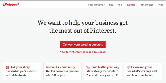 Pinterest Business Accounts