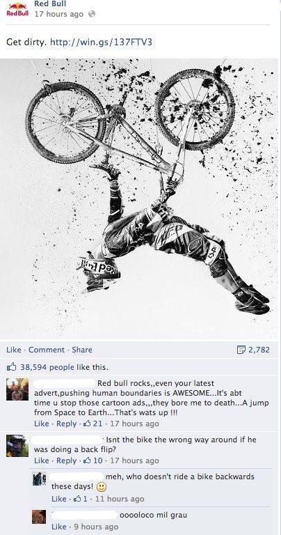 Facebook Kommentar-Threads