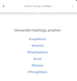 Google+ Related Hashtags III