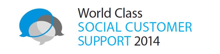 World Class Social Customer Support 2014