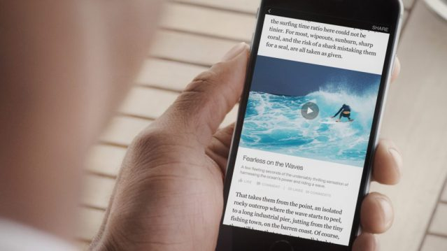 Facebook Instant Articles - Bild und Spiegel Online als Partner -Video