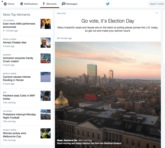 Content Curation mit Twitter Moments