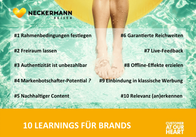 Influencer Marketing - 10 Regeln für Brands