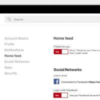 Mehr Kontrolle für den Pinterest Home Feed - Empfehlungen können jetzt deaktiviert werden.