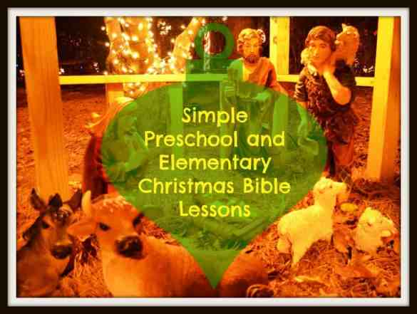 Christmas Bible Lessons