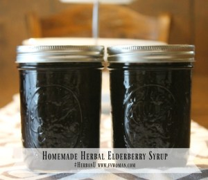 Boost Immunity and Fight Colds with Homemade Herbal Elderberry Syrup!