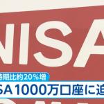 NISA口座が1000万口座目前