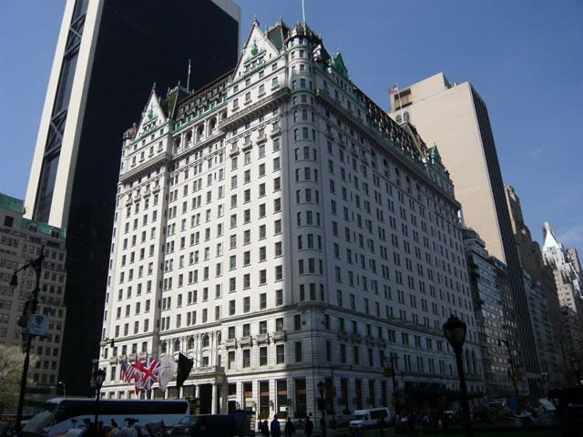 アメリカ合衆国ニューヨーク市のプラザホテル