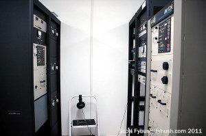 WNZF's transmitters