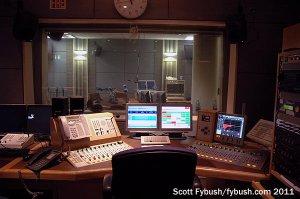 A studio for RTE Radoi 1